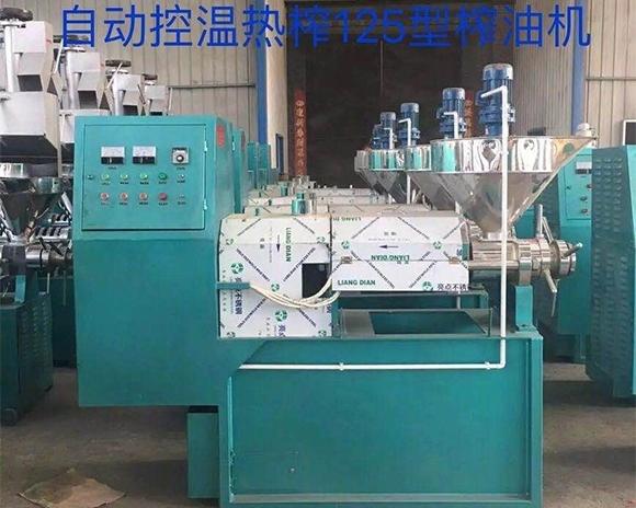 新型液压榨油机双向气缸主要部件的性能和特点